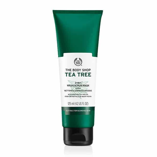 Tea Tree 3 In 1 Scrub - 125ml