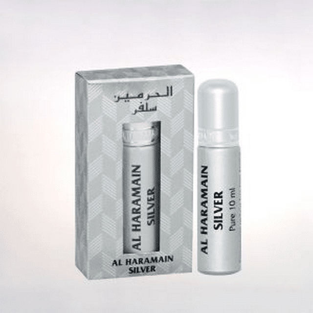Al Haramain Silver Pure Perfume 10mL
