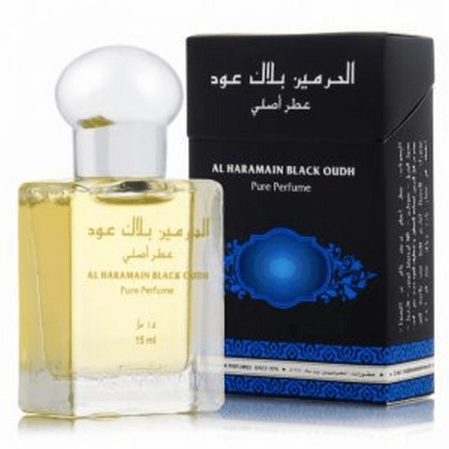 Al Haramain Black Oudh Pure Perfume 15mL