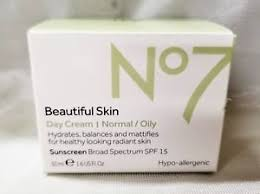 Boots No7 Beautiful Skin Day Cream, Normal / Dry 1.6 fl oz